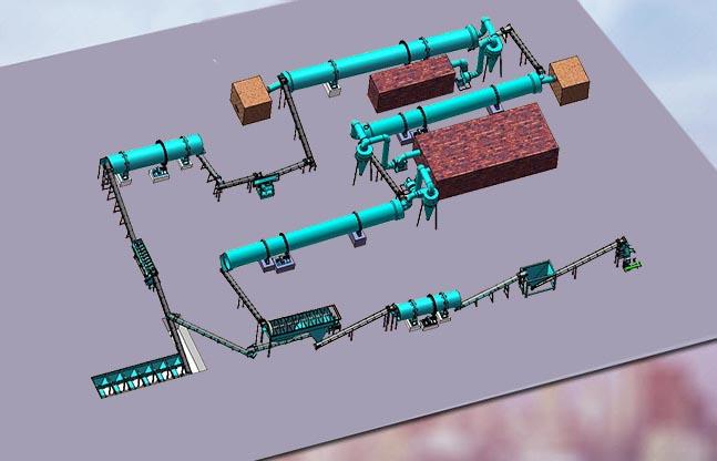 年产3000吨有机肥设备配置